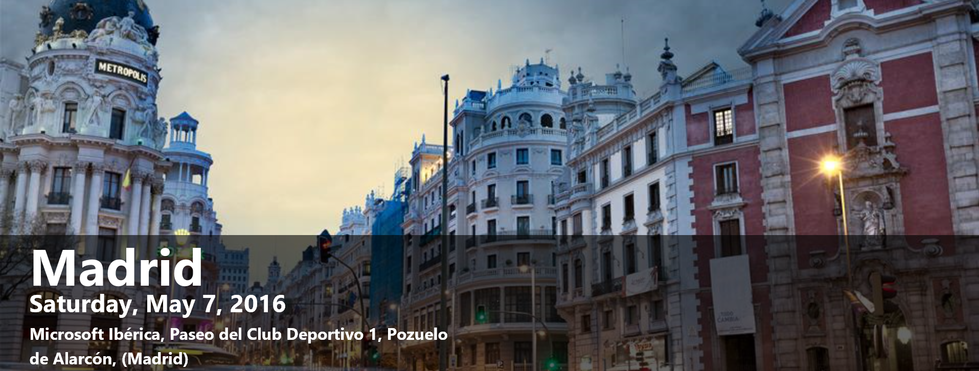 Abierto registro para SharePoint Saturday Madrid 2016